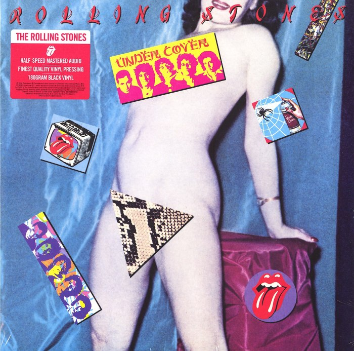 Rolling Stones - Undercover - Limited Edition, 180gm, Vinyl, LP, Interscope Records, 2020