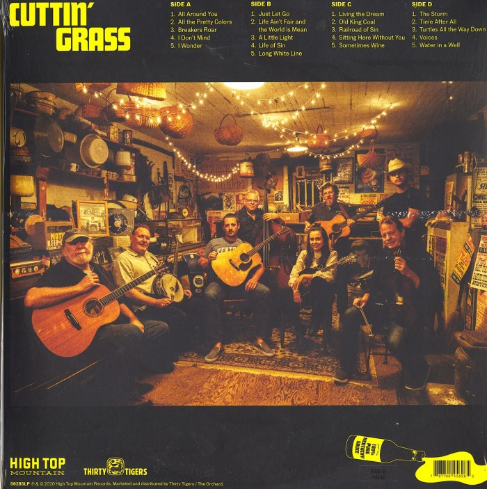Sturgill Simpson - Cuttin' Grass - Double Vinyl, LP, High Top Mountain Records, 2020