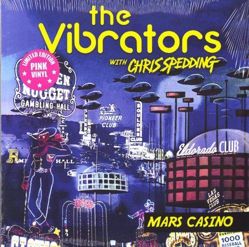 Vibrators - Mars Casino - Limited Edition, Pink, Colored Vinyl, LP, Cleopatra Records, 2020