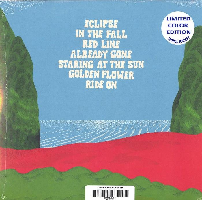 Wooden Shjips - V. - Limited Edition, Red, Colored Vinyl, Thrill Jockey, 2020
