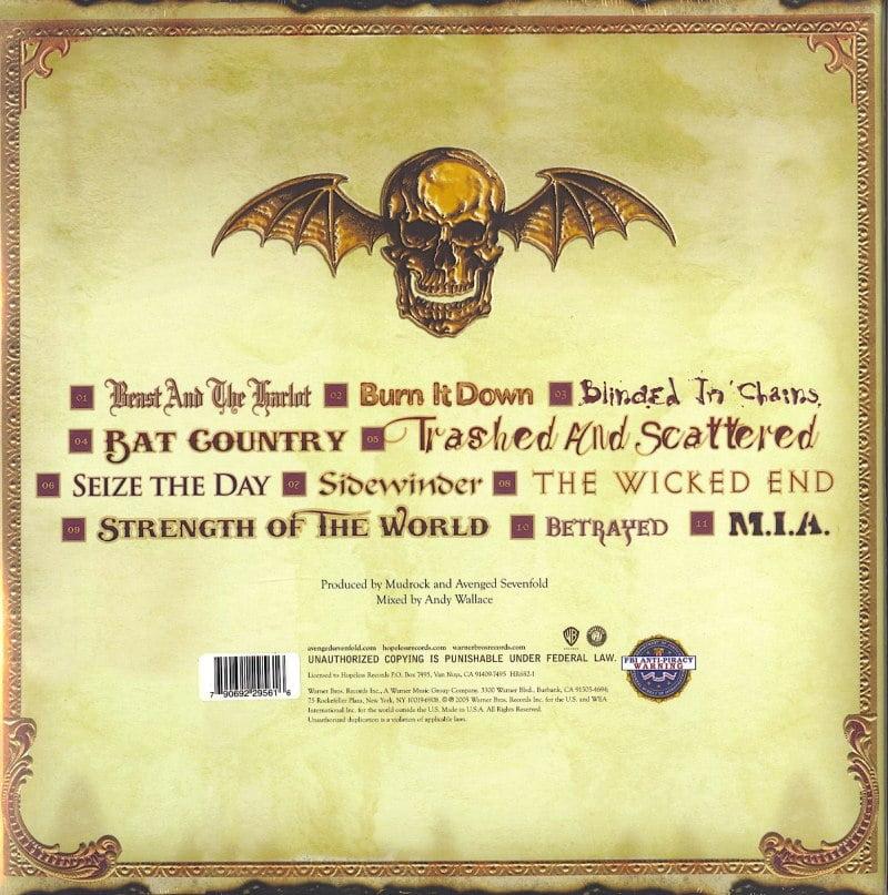 Avenged Sevenfold - City Of Evil - 15th Anniversary Edition, Red Vinyl, LP, Hopeless Records, 2021