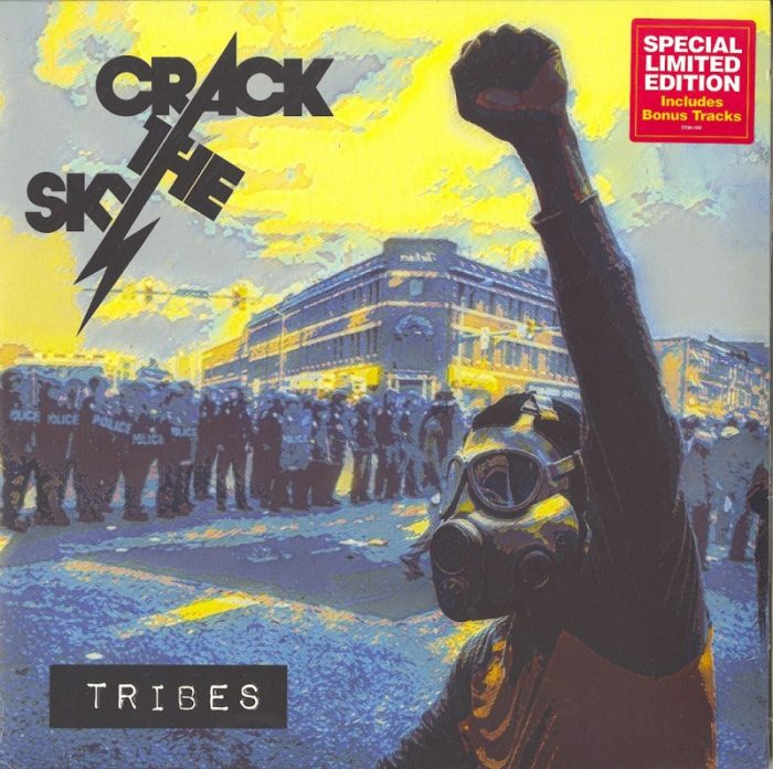 Crack The Sky - Tribes - Limited Edition, Clear, Double Vinyl, LP, Carry On Music, 2021