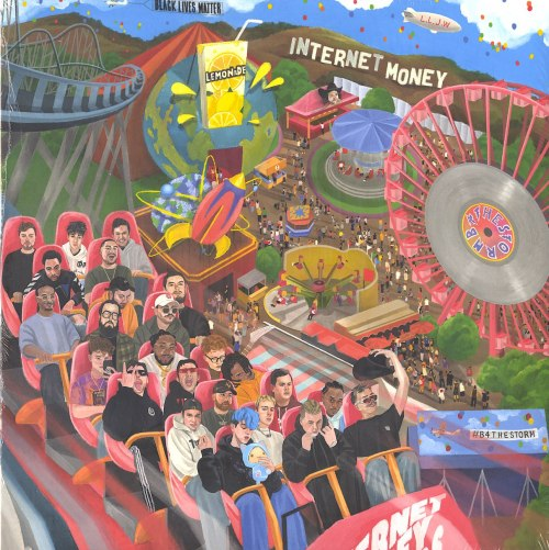 Internet Money - B4 The Storm - Limited Edition, Clear, Double Vinyl, LP, Ten Thousand Project, 2021