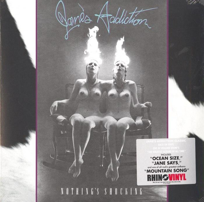 Jane's Addiction - Nothing's Shocking - 180 Gram, Vinyl, LP, Reissue, Rhino, 2020