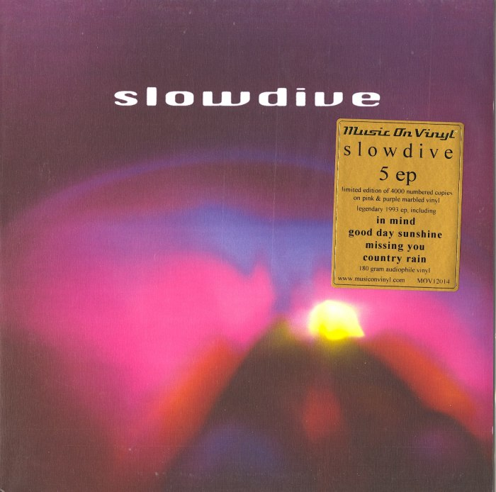Slowdive - 5 - Limited Edition, Colored Vinyl, EP, Numbered, Music On Vinyl, 2021
