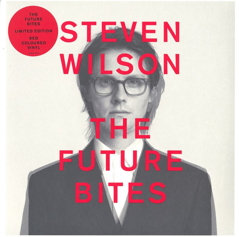 Steven Wilson - The Future Bites - Limited Edition, Red, Colored Vinyl, Booklet, Arts & Crafts, 2021