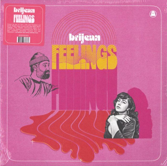 Brijean - Feelings - Limited Edition, Lava Lamp Colored Vinyl, LP, Ghostly Int'l, 2021