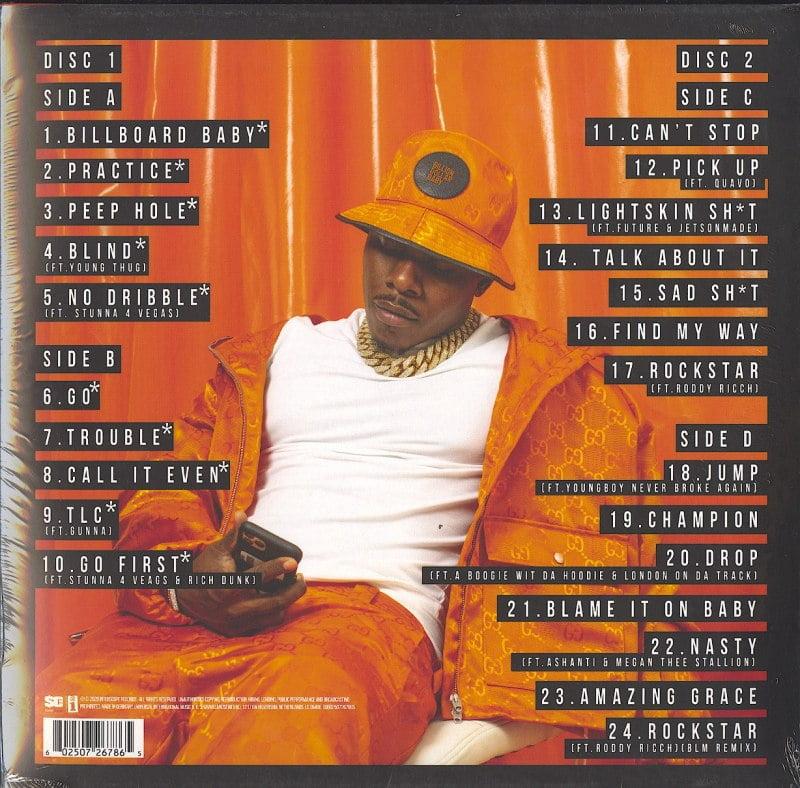 DaBaby - Blame It On Baby - Deluxe, Double Vinyl, LP, Interscope Records, 2021