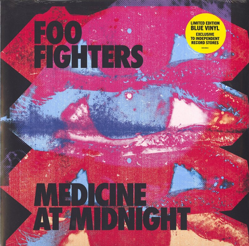 Foo Fighters - Medicine At Midnight - Ltd Ed, 140 Gram, Blue, Colored Vinyl, LP, RCA, 2021