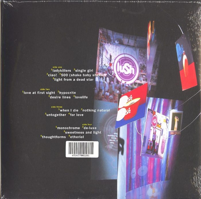 Lush - Ciao! Best Of - Limited Edition, Red, Double Vinyl, LP, 4AD, 2021