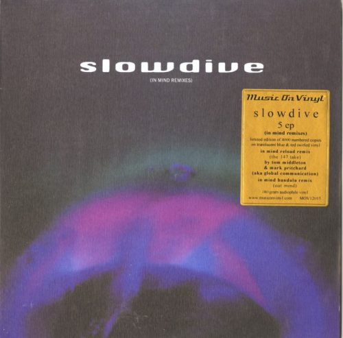 Slowdive - 5: In Mind Remixes - Ltd Ed, Numbered, Blue and Red Vinyl, EP, Music On Vinyl, 2021