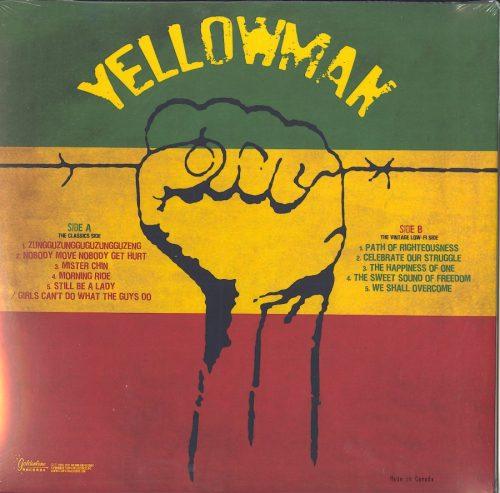 Yellowman - Reggae Freedom - Yellow Marble, Colored Vinyl, LP, Goldenlane, 2021