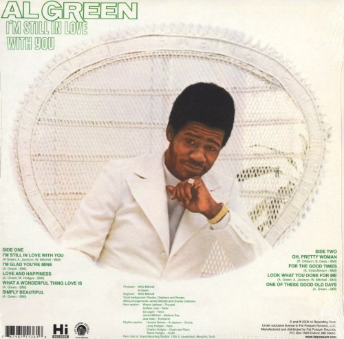 Al Green - I'm Still in Love with You - 180 Gram, Vinyl, LP, Fat Possum Records, 2009