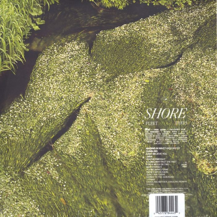 Fleet Foxes - Shores - Limited Edition, Clear Vinyl, LP, with Poster, Anti, 2021