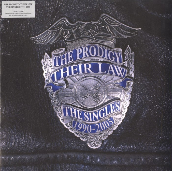 Prodigy - Their Law: The Singles 1990-2005 - 2XLP, Silver, Colored Vinyl, LP, XL Recordings, 2021