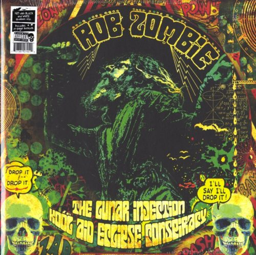 Rob Zombie - Lunar Injection Kool Aid Eclipse Conspiracy, Ltd Red w/ Black & White Splatter Vinyl, Nuclear Blast, 2021