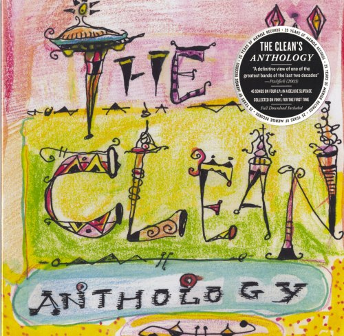 The Clean - Anthology - 4XLP, Vinyl, Box Set, Merge Records, 2014
