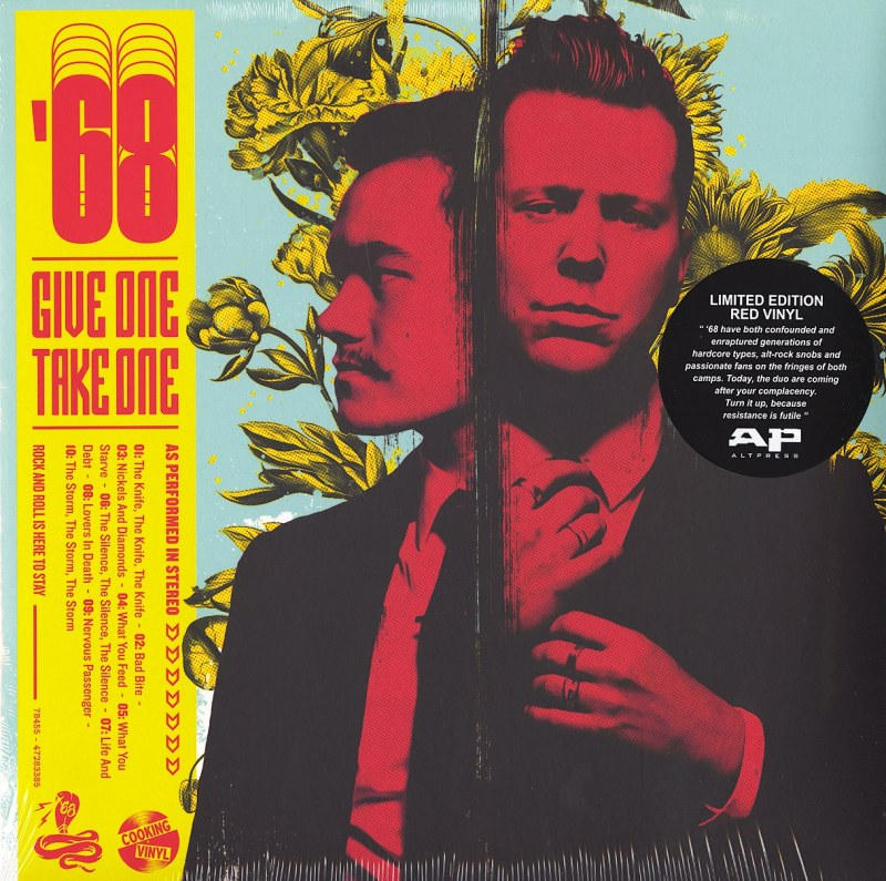 68 - Give One Take One - Limited Edition, Red, Colored Vinyl, LP, Cooking Vinyl, 2021