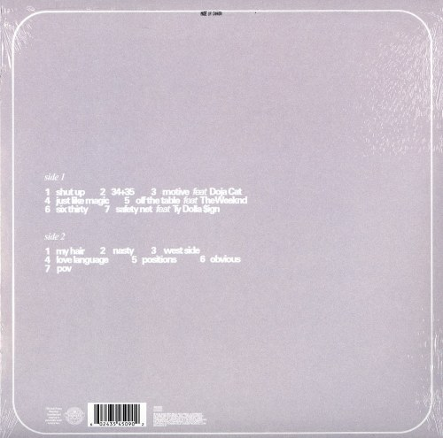 Ariana Grande - Positions - Limited Edition, Coke-Bottle Clear Vinyl, LP, Republic, 2021
