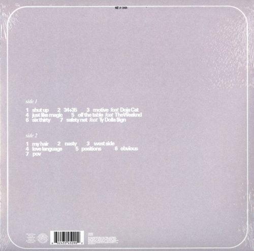 Ariana Grande - Positions - Limited Edition, Coke-Bottle Clear Vinyl, LP, Republic, 2021