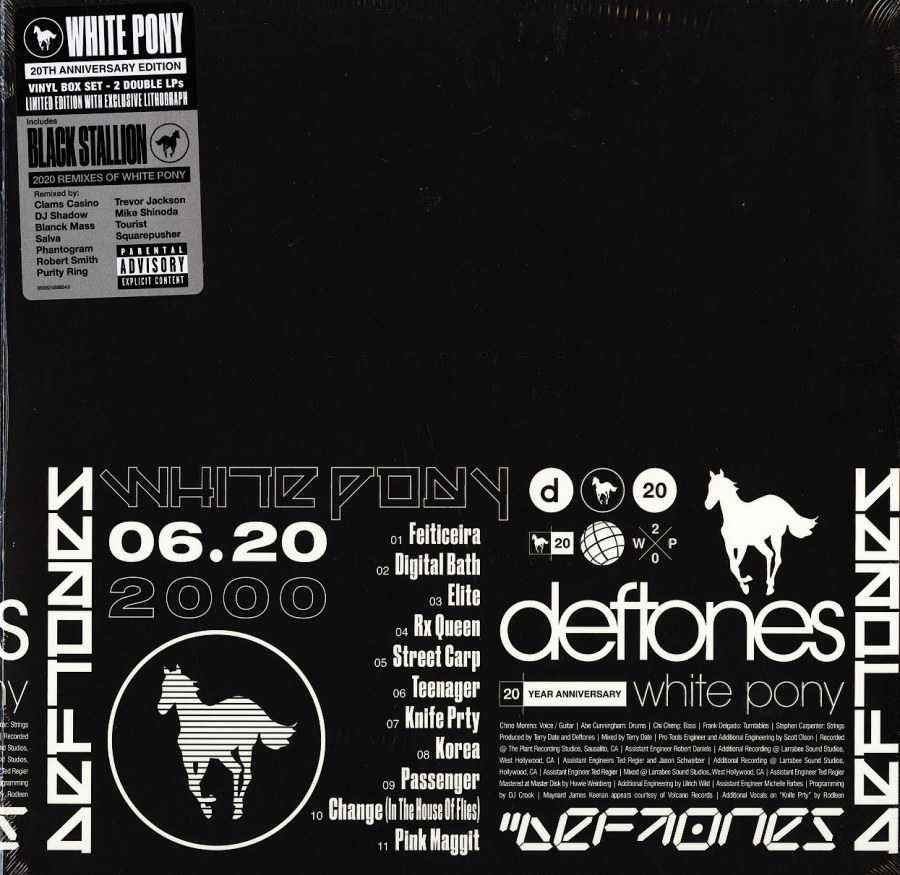 Deftones - White Pony - Anniversary Edition, 4 LP Box Set, Warner Records, 2021