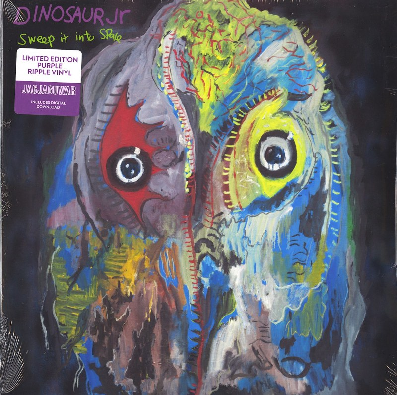 Dinosaur Jr. - Sweep It Into Space - Limited Edition, Purple, Colored Vinyl, LP, Jagjaguwar, 2021