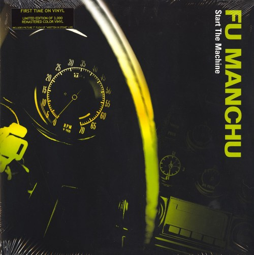 Fu Manchu - Start The Machine - Limited Edition, Green, Colored Vinyl, LP, At The Dojo, 2019