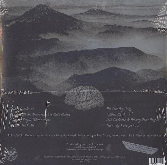 Jello Biafra And The Guantanamo School Of Medicine – Tea Party Revenge Porn - Limited Edition, Clear Vinyl, LP, Alternative Tentacles, 2021