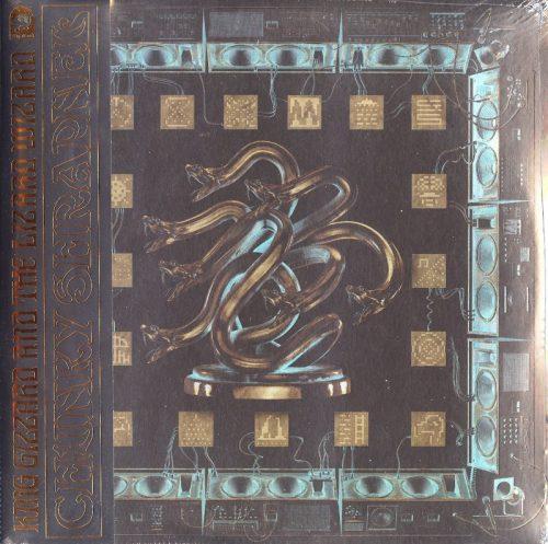 King Gizzard & Lizard Wizard - Chunky Shrapnel - Gold, Black, Double Vinyl, LP, ATO, 2020