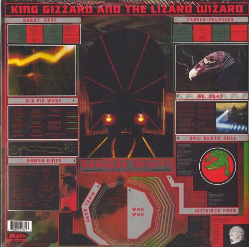 King Gizzard & The Lizard Wizard - Nonagon Infinity - Tri-Colored, Vinyl, LP, ATO Records, 2016