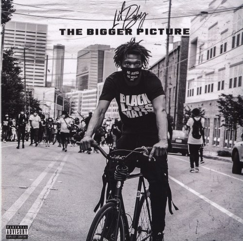 """Lil Baby - The Bigger Picture - Limited Edition, Colored Vinyl, 12"""" Single, Quality Control, 2021"""