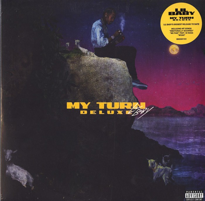 Lil Baby - My Turn - Deluxe, Black Ice Vinyl, 3XLP, Quality Control, 2021