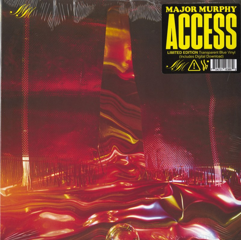 Major Murphy - Access - Limited Edition, Blue, Colored Vinyl, Winspear, 2021