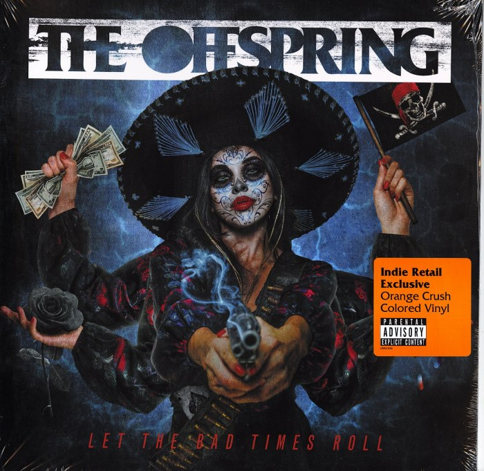 The Offspring - Let The Bad Times Roll - Limited Edition, Orange Crush, Colored Vinyl, LP, 2021
