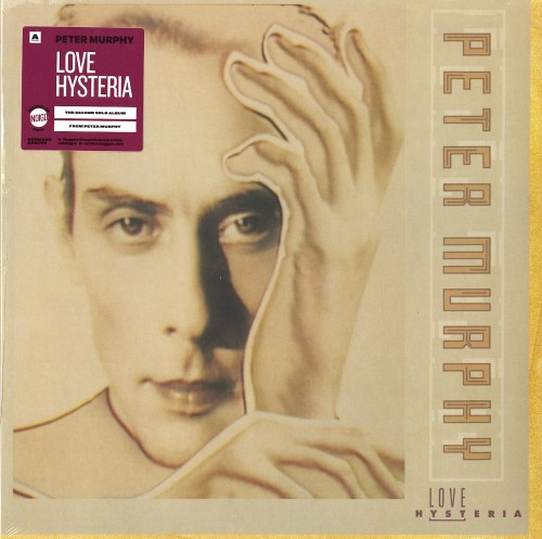 Peter Murphy - Love Hysteria - Limited Edition, Indigo, Colored Vinyl, Beggars, 2021