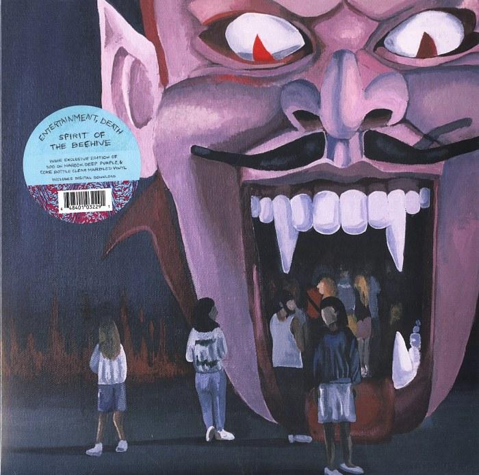 Spirit Of The Beehive - Entertainment Death - Limited Edition, Color Vinyl, LP, Saddle Creek, 2021