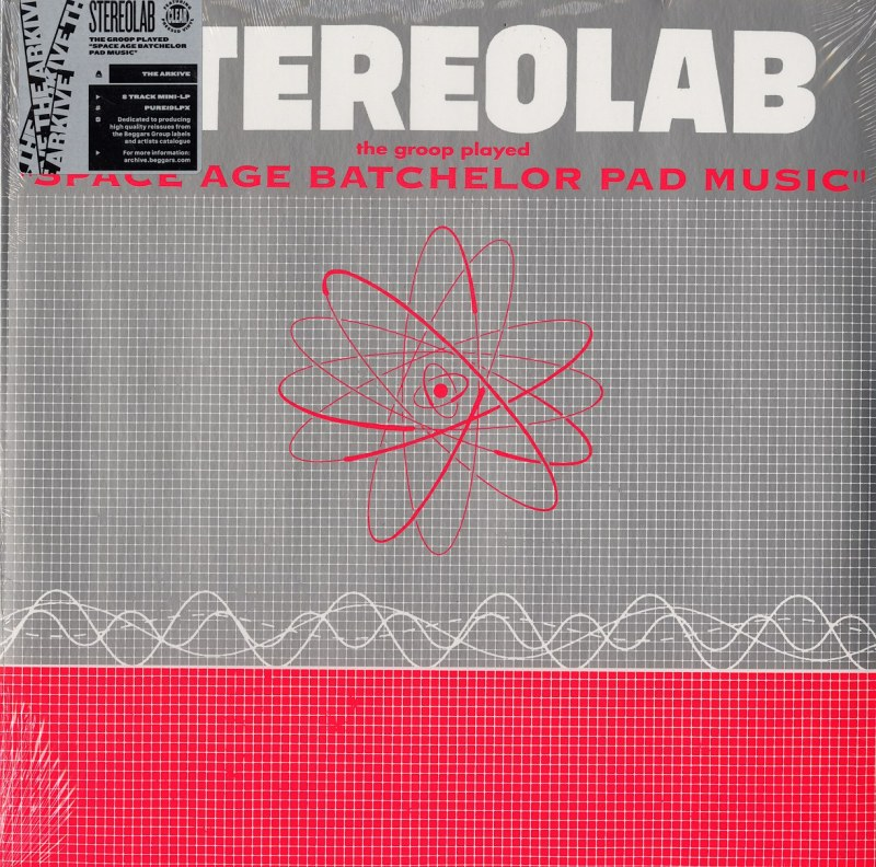 Stereolab - The Groop Played Space Age Batchelor Pad Music - Limited Edition, Clear Vinyl, LP, Too Pure, 2018