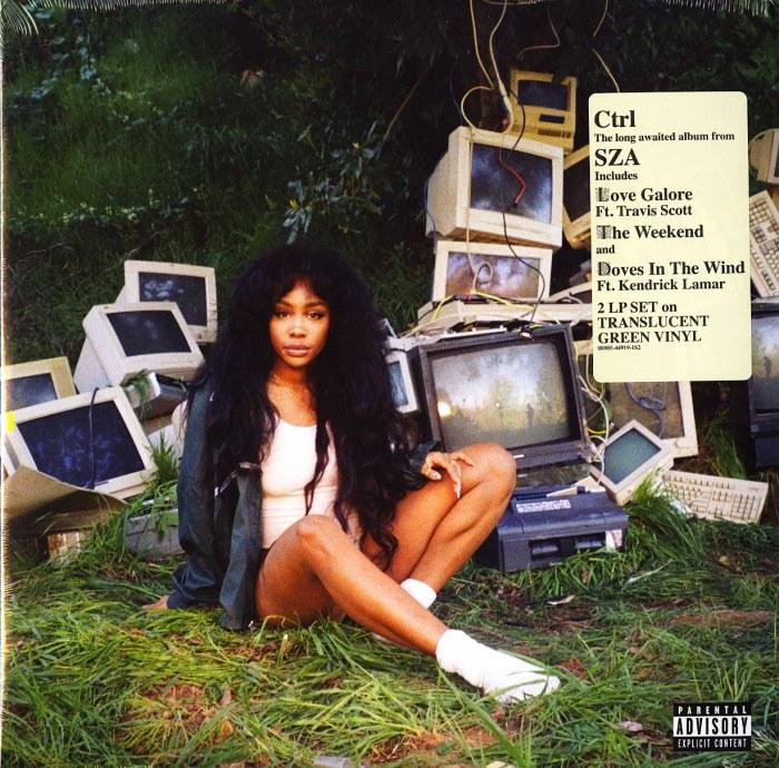 SZA - CTRL - Limited Edition, Green Translucent, Double Vinyl, LP, RCA, 2017