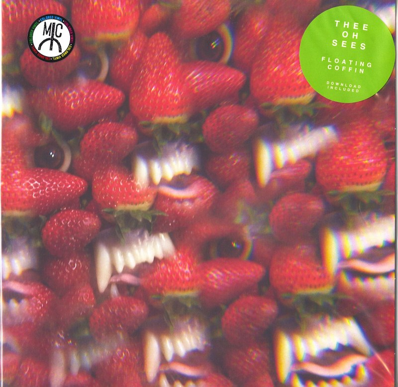 Thee Oh Sees - Floating Coffin - Red Translucent, Vinyl, LP, Castleface, 2018