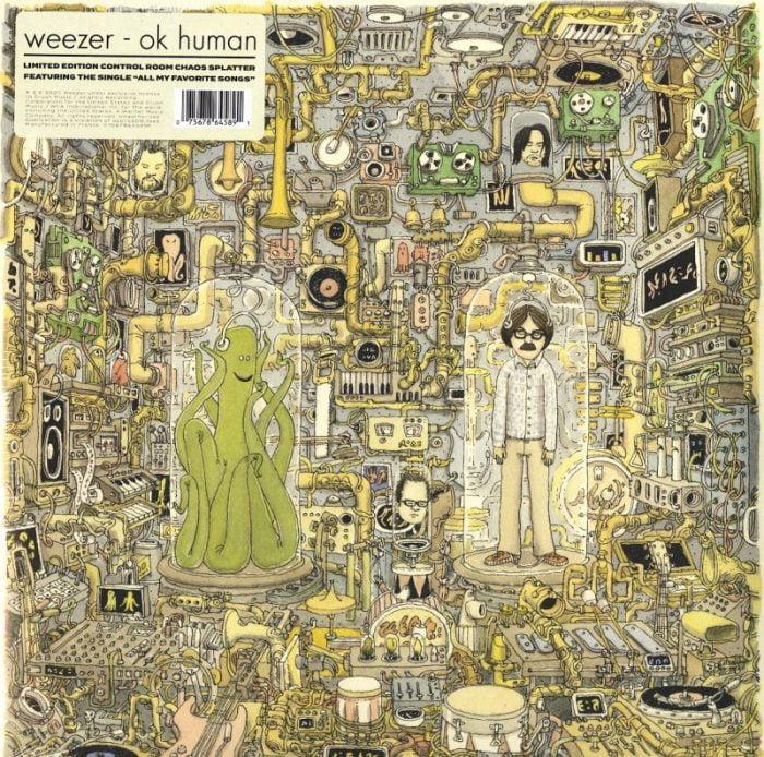 Weezer - Ok Human - Limited Edition, Splatter Vinyl, LP, Atlantic, 2021