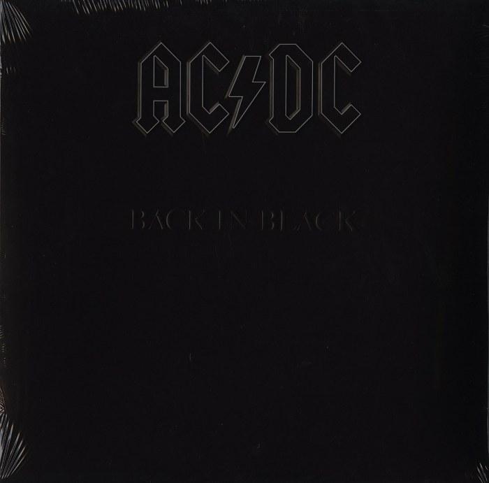 AC/DC - Back In Black - Vinyl, LP, Reissue, Remastered, Sony Records, 2021