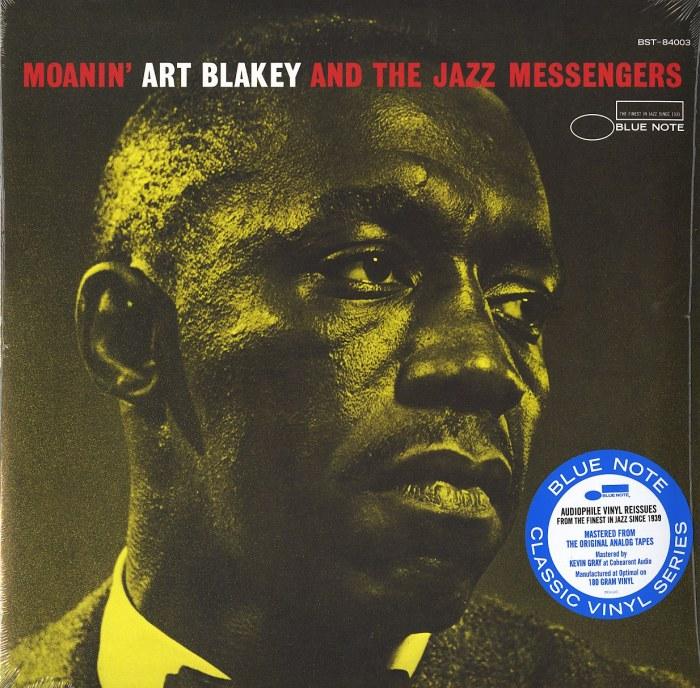 Art Blakey & Jazz Messengers - Moanin - 180 Gram, Vinyl, LP, Reissue, Blue Note, 2021