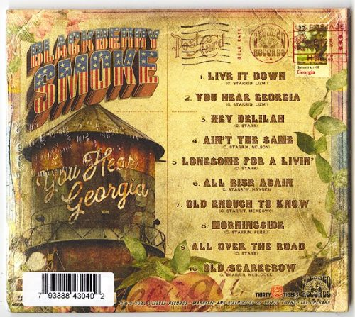 Blackberry Smoke - You Hear Georgia - Ltd Ed, CD, Bonus Track, Low Price, 2021