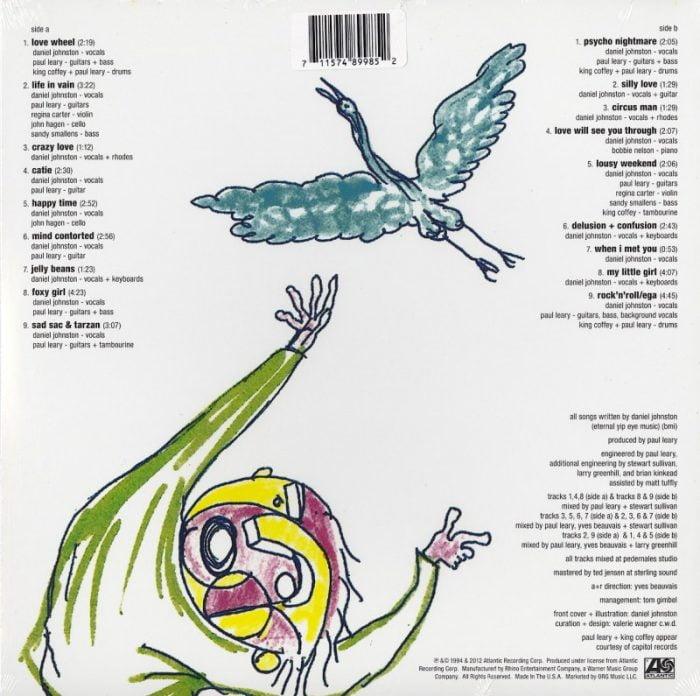 Daniel Johnston - Fun - Limited Edition, Magenta, Colored Vinyl, LP, Atlantic, 2021