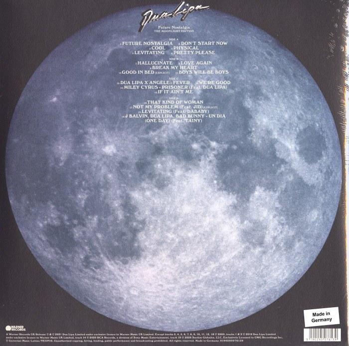Dua Lipa - Future Nostalgia (Moonlight Edition) - Double Vinyl, LP, Warner Records, 2021