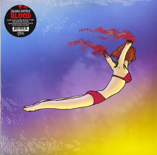 Juliana Hatfield - Blood - Ltd Ed of 350, Black with Red Splatter, Vinyl, LP, American Laundromat, 2021