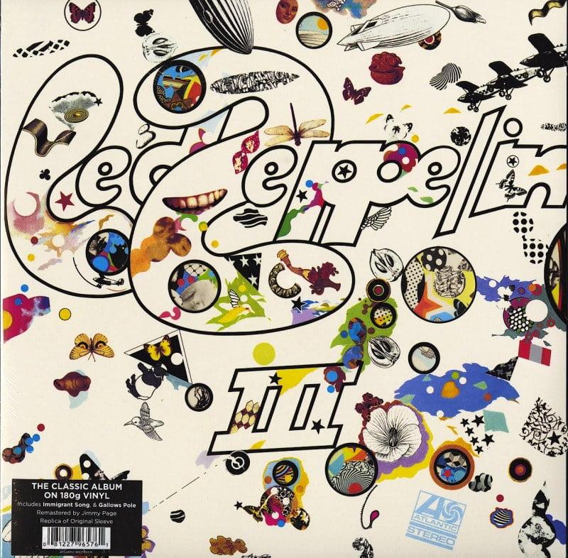 Led Zeppelin - 3 - 180 Gram, Vinyl, LP, Remastered, Atlantic Records, 2014