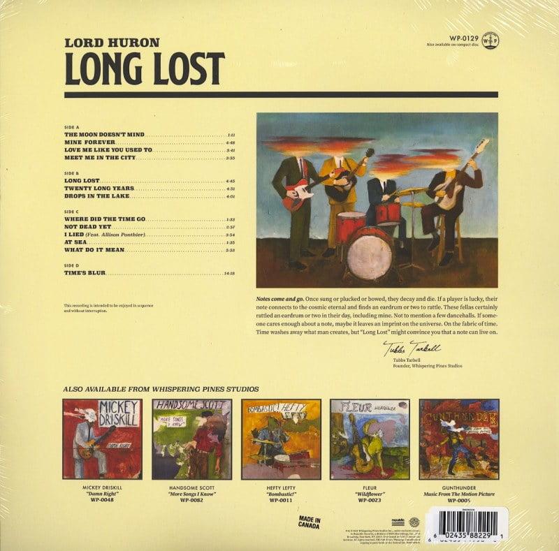 Lord Huron - Long Lost - Limited Edition, Custard / Sky Blue, Double Vinyl, LP, Republic, 2021