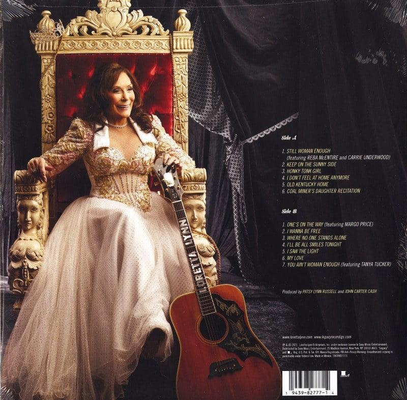 Loretta Lynn - Still Woman Enough - 150 Gram, Vinyl, LP, Sony Records, 2021