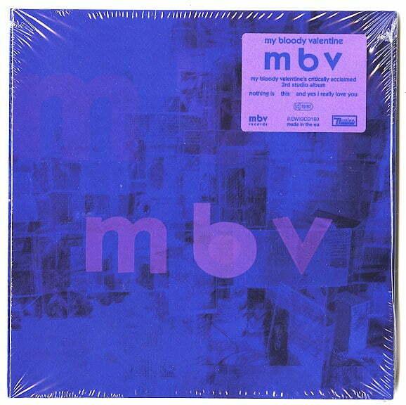 My Bloody Valentine - m b v - CD, Reissue, Domino, 2021